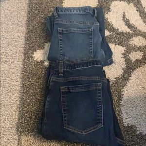 Lot of 2 pairs of Old Navy jeans